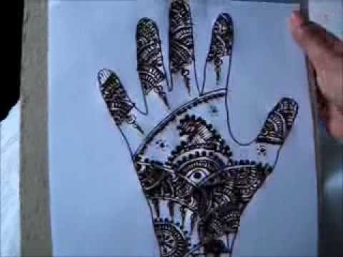 Simple and Easy Henna/Mehndi Designs – 4 Natural Tattoo