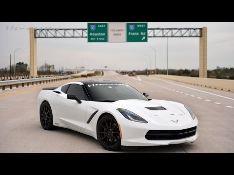 0 Stingray Gun: Hennessey Corvette C7 Does the Double Ton on a Texas Toll Road [Video]