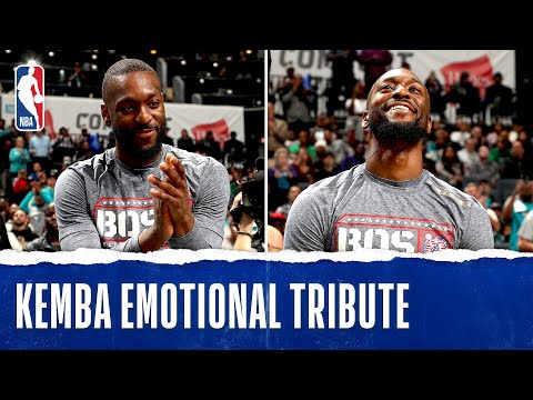 Kemba Walker Welcomed Back With Tribute Video!