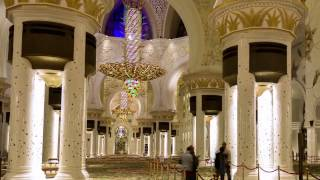 Shiekh Zayed Grand Mosque Timelapse/hyperlapse