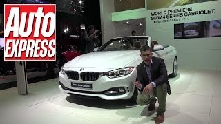 BMW 4 Series Cabriolet at the Tokyo Motor Show 2013 - Auto Express