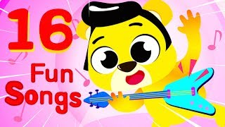 A FUN SONG COMPILATION WITH KID'S FAVORITE SONGS!Subscribe for more videos: https://goo.gl/5h4iueMusic & Lyrics by: Ben Rawles (Music) - http://www.benrawles.com/p/demos.htmlJay Lefebvre (Music) - http://melophonie.com/Neil Balfour (Voices) - https://www.neilbalfour.com/Jemma Johnson (Voices) - https://www.youtube.com/jemmajmusicMeredith Morris (Voices)Animations by:Valnet Inc.Copyright 2017 Valnet