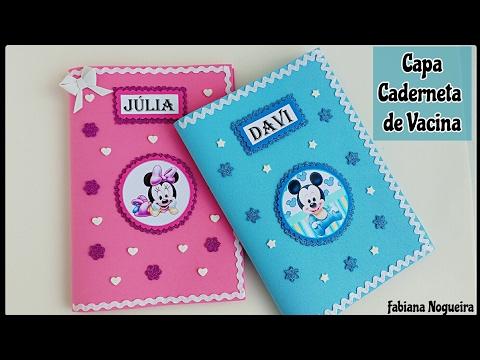 Caderneta de vacina