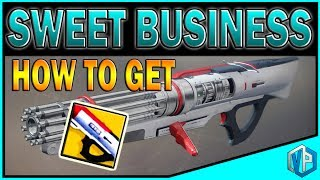 """Today I will tell you guys how to get the new exotic Sweet Business in Destiny 2!Destiny 2 Giveaway: https://www.youtube.com/watch?v=SgAxriJwF9ISupport me on Patreon: https://www.patreon.com/vprivilege-SOCIAL MEDIAS-Subscribe To Join """"Privileged Ones"""": https://www.youtube.com/channel/UC94y8WJThuyMH_uDie6c_CA?sub_confirmation=1Subscribe to DRAW with VPG Channel: https://www.youtube.com/channel/UCyUnAHFzbabRqcVYjjiQgUw?sub_confirmation=1Follow me on Twitter: https://twitter.com/VPrivilegeFollow me on Instagram: https://instagram.com/vprivilege/Follow me on Facebook: https://www.facebook.com/huhtrn/Watch me on Twitch: http://www.twitch.tv/huhtrnEmail: sixofthenine@gmail.com -SPONSORS- USE Code """"VPG"""" to SAVE $$$ at checkout!CHEAPEST STEAM GAMES G2A: https://www.g2a.com/r/huhtrnRazer: https://www.razerzone.com/store Kontrol Freeks: https://www.kontrolfreek.com/rewardsref/index/refer/id/689737/Violent Privilege Gaming Apparel: https://shop.spreadshirt.com/vprivilegeBluvos Energy: https://www.bluvos.com/ref/VPrivilege/"""