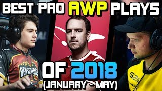 Video THE BEST PRO AWP PLAYS OF 2018! (CRAZY PLAYS, ACES, CLUTCHES!) - CS:GO MP3, 3GP, MP4, WEBM, AVI, FLV Juni 2019