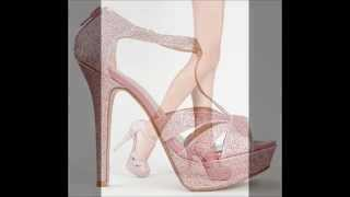 Glitter High Heels - Sparkly Shoes - Sexy Shoes - Shop With Maree