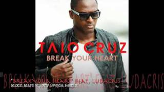 Taio Cruz videoklipp Break Your Heart (feat. Ludacris) (Mixin Marc & Tony Svedja Edit)