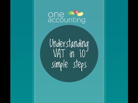 One Accounting – Understanding VAT in 10 simple steps