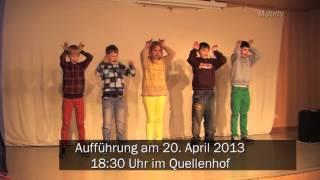 MöllnTV - Theaterprobe Klasse 5e Gemeinschaftsschule Mölln Am 10.4.2013