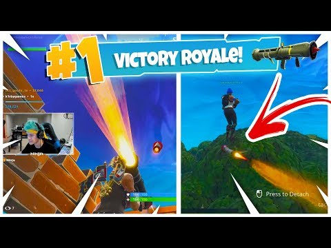 *new* Guided Missile Best Kills & Moments (ninja Reacts) Fortnite Battle Royale Best Moments #11