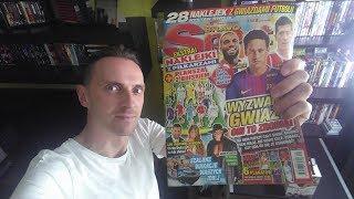 Siemaneczko w dzisiejszym odcinku zrobiłem unboxing nahnowszej gazety Bravo Sport nr. 15 z bardzo fajnym dodatkiem z piłkarzami :)