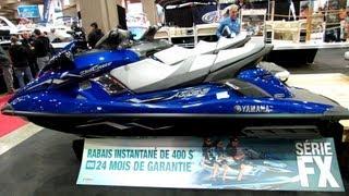 10. 2013 Yamaha Wave Runner FX SHO Jet Ski - Walkaround - 2013 Montreal Boat Show