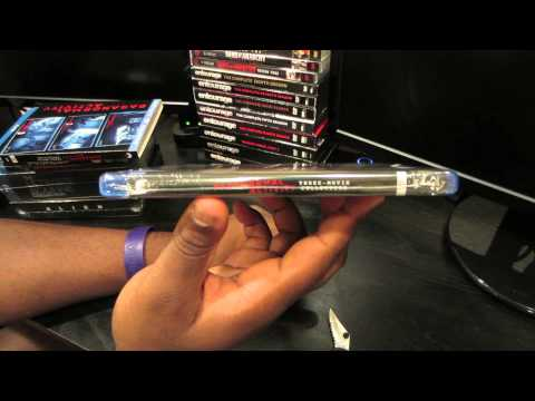 Paranormal Activity Trilogy Gift Set on Blu Ray: 1 Minute Unboxings on DrifterTVHD