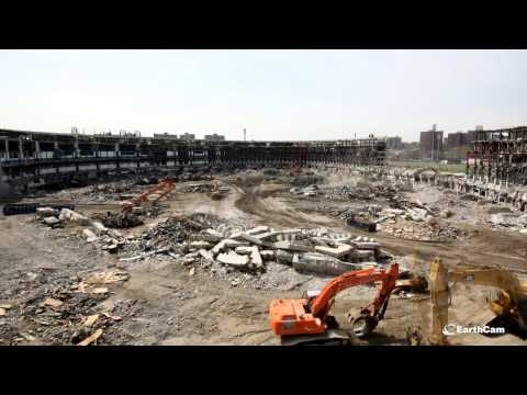 yankee stadium - Watch and share this time-lapse movie, showcasing demolition for the New York Yankee stadium in the Bronx. See the walls come down and watch as construction ...
