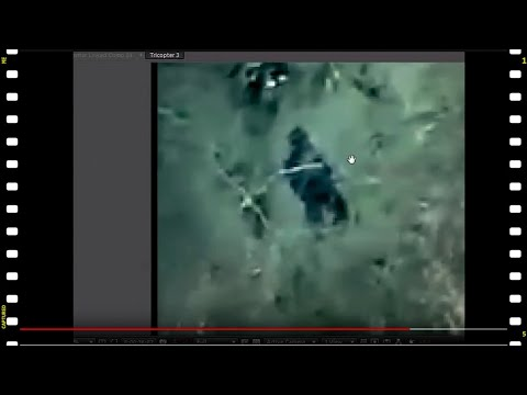 A Possible Bigfoot Footage from a Tricopter