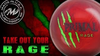 The All New **Primal Rage** From MOTIV Bowling