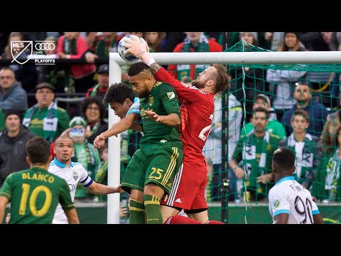 Video: Bill Tuiloma | Timbers 2, Sounders 1 | Audi 2018 MLS Cup Playoffs | Nov. 4, 2018