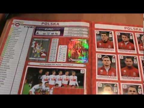 UEFA Euro 2012 Oficial Sticker Album 90% Complete