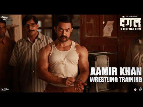 Aamir Khan Wrestling Training - In Cinemas Nowa