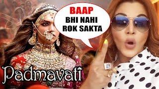 Video ANGRY Rakhi Sawant's REACTION On Deepika's Padmavati Controversy MP3, 3GP, MP4, WEBM, AVI, FLV November 2017