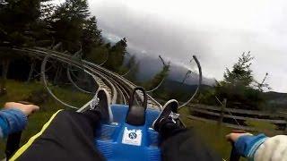 Meran Italy  city photos : Rodelbaan Rodelen Dolomieten Italie (Alpine coaster Merano Dolomites Italy Meran roller coaster)