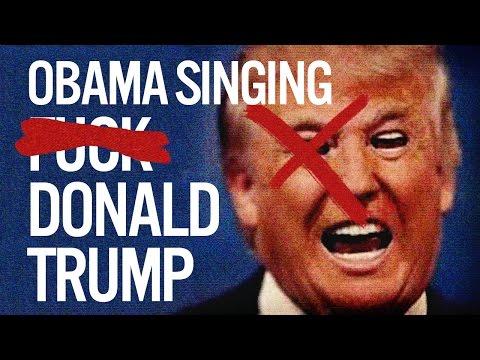 Barack Obama Sings YG  Nipsey Hussle s F k Donald