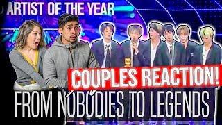Video BTS // FROM NOBODIES TO LEGENDS 2013- DEC 2017 - COUPLES REACTION! (방탄소년단) MP3, 3GP, MP4, WEBM, AVI, FLV September 2019