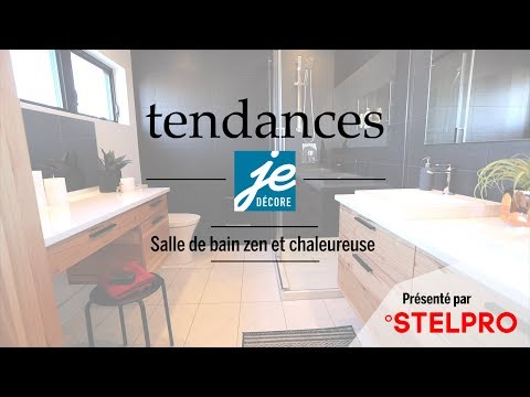 Tendance - Salle de bain zen et chaleureuse