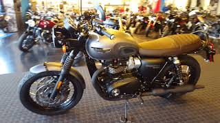 5. 2018 Triumph Bonneville T120 Black in Matt Graphite @ Frontline Eurosports !!!