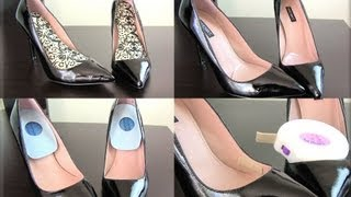 How to Make Walking in Heels Comfortable! 5 Easy Tips! - YouTube