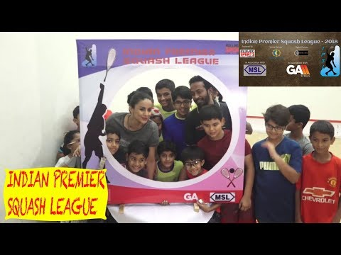 Gul Panag At Launch Of Indian Premier Squash League - India's First International Squash League