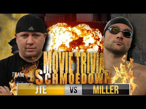 Movie Trivia Schmoedown - Olympic Gold Medalist Swimmer Cody Miller Vs JTE