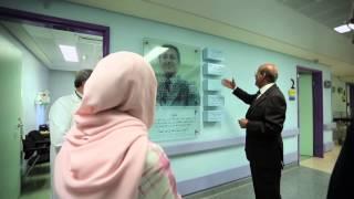 <h5>Her Highness visiting Children Cancer Centre of Lebanon</h5>