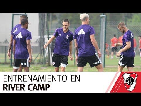 El Más Grande y un nuevo entrenamiento en River Camp