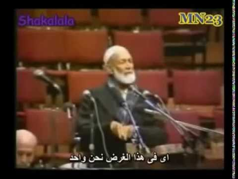 Ahmed Deedat destroy Christianity in 7 minutes