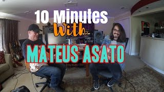 Video 10 Minutes With Mateus Asato | Tim Pierce | Guitar Lesson MP3, 3GP, MP4, WEBM, AVI, FLV Agustus 2018