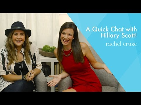 A Chat With Hillary Scott!