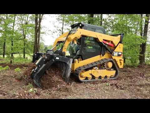 Cat® Grapple Rake Attachment at Work