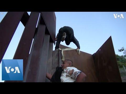 Migrants Continue to Breach US Border Wall