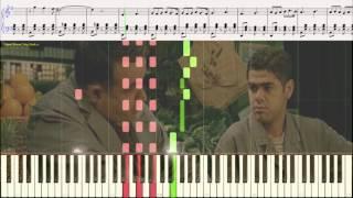 АМЕЛ� - Ян Тьерсен (попурри) (Ноты и Видеоурок для фортепиано) (piano cover)