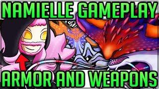 Namielle Gameplay/Breakdown + Armor and Weapon Showcase - Monster Hunter World Iceborne! #namielle