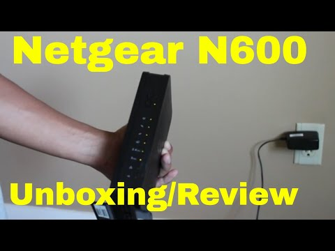 Netgear N600 WiFi Cable Modem Router - Review