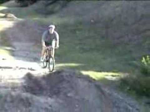 Fat Kid fall off bike