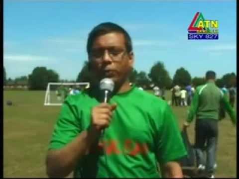 Coventry Bangladeshi Society CBS football opening day 2011 ATN Bangla UK news by Raihan