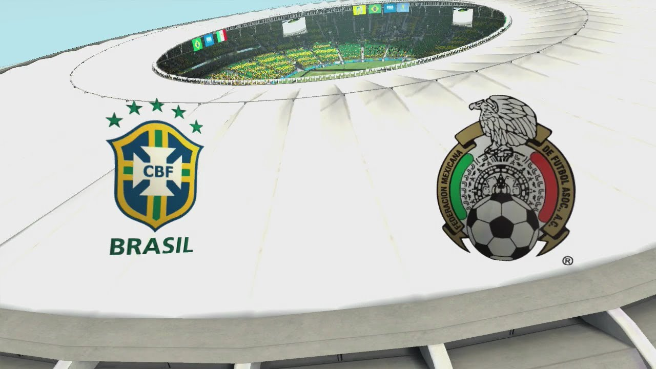 2014 FIFA World Cup Brazil – Brasil vs Mexico – [HD FULL Gameplay]