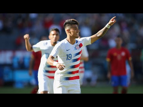 USMNT vs. Costa Rica: Uly Llanez Goal - Feb. 1, 2020
