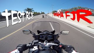 8. Test Ride & Review: 2015 Yamaha FJR 1300