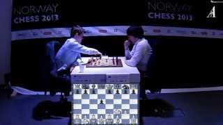 ♚ Magnus Carlsen vs Teimour Radjabov Chess Blitz