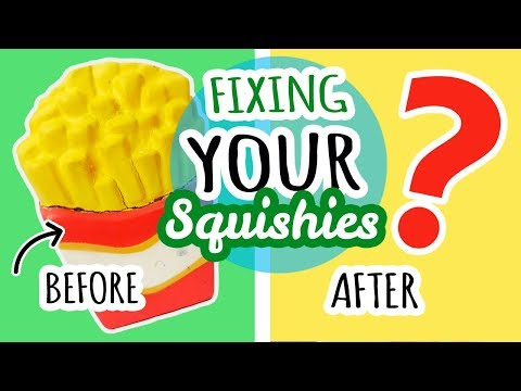 Squishy Makeovers: Fixing Your Squishies #3 (видео)