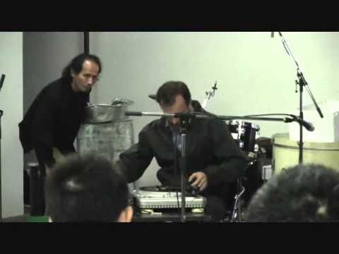 Jurek Rogiewicz ( drums) DJ Lenar (turntables) Kimura Fumihiko (percussion)